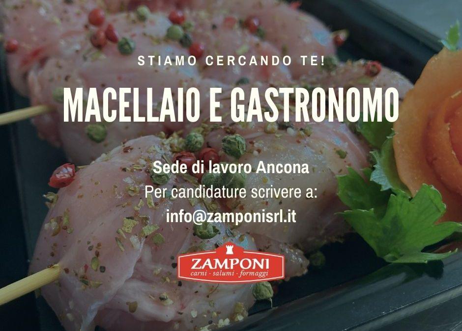 Offerta lavoro Zamponi Srl Ancona Macellaio e Gastronomo